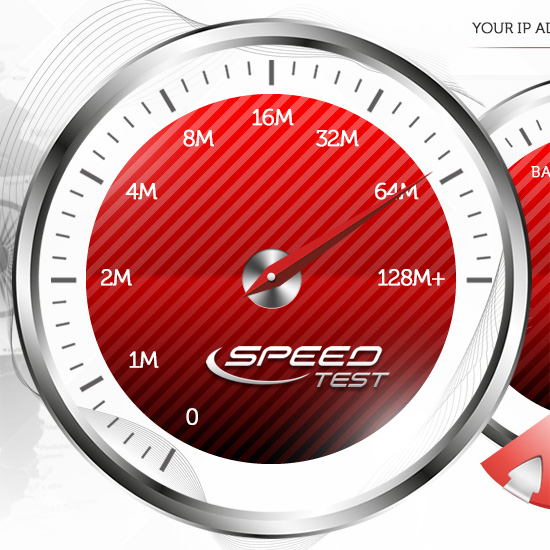 Speed test - ping-test net