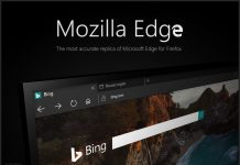 Mozilla Firefox may look the same as Microsoft Edge.