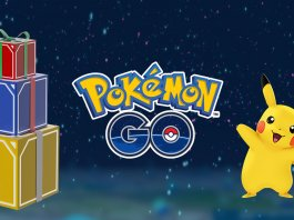 Pokemon GO Christmas event