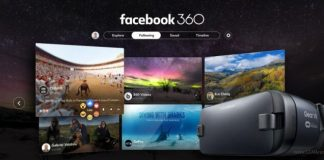 Facebook 360 Samsung Gear VR