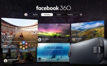 Facebook 360 Samsung Gear VR