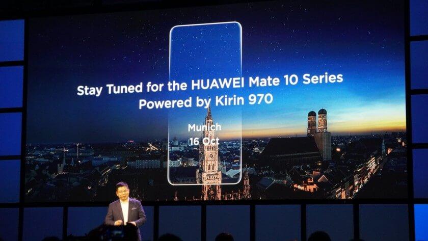 Huawei Mate 10 Kirin 970