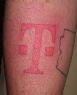 T-Mobile tattoo